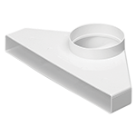 Monsoon Rectangular Ducting 234mm x 29mm Duct & Accessories, Elbow-Bend-with-90-deg_2