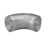 100mm Semi Rigid Aluminium Ducting