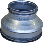 Spiral Ducting Reducer Short (RD)