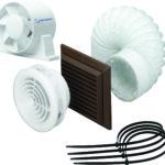 100mm Monsoon fan and Vent Light kits